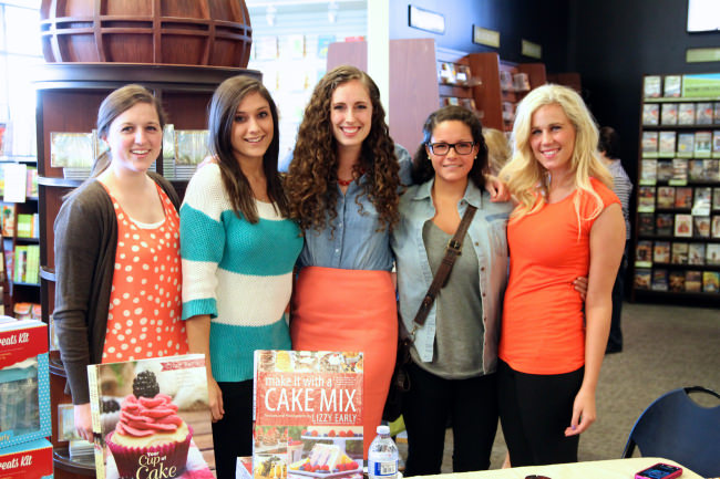 Make it with a Cake Mix book signing
