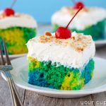 Tie-Dye Poke Cake and Giveaway