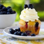 Banana Blueberry Cupcakes