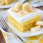 Easy Banana Pudding Cake