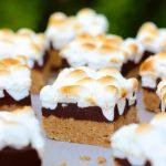 No Bake Peanut Butter S'more Bars