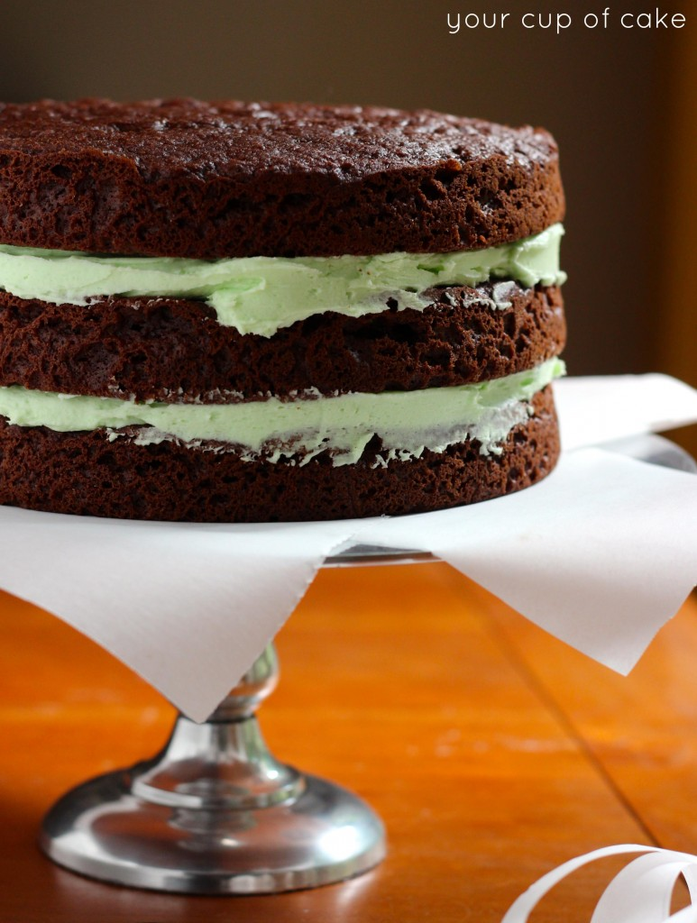 Andes Mint Cake How To
