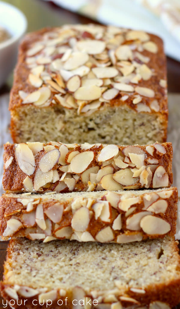 Amazing Almond Banana Bread