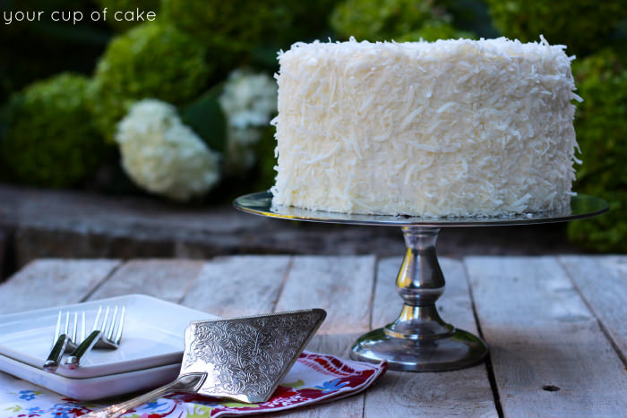 Chocolate Coconut Cake Decorating