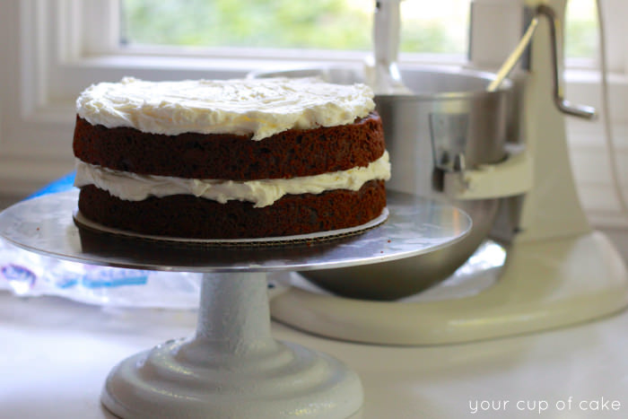 Chocolate Coconut Cake Frosting