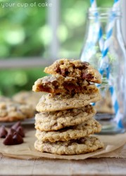 Lizzy's Famous Oatmeal Chocolate Chip Cookies