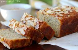 The Best Almond Banana Bread Ever