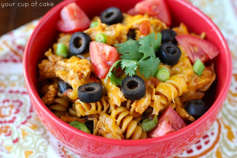 1 pot enchilada pasta