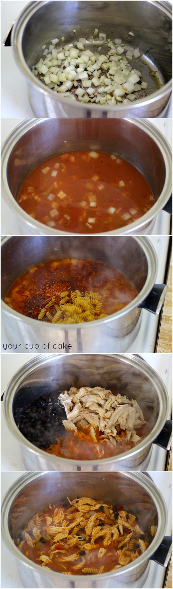 1 pot pasta dinner