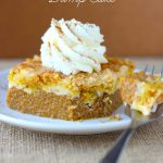 Pumpkin Cream Cheese Dump Cake (and how I got dumped)