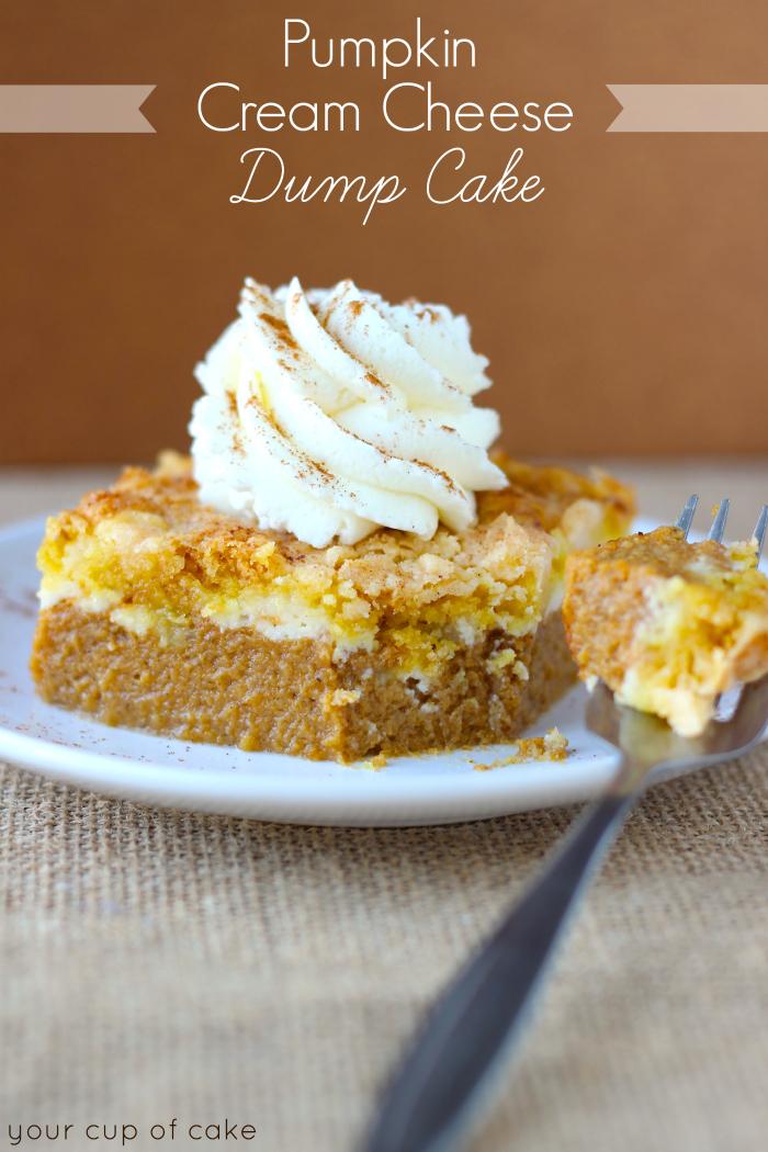 Easy Pumpkin Cream Cheese Cake