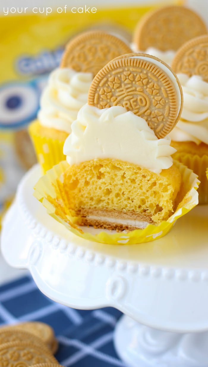 Golden Oreo Cupcakes Your Cup of Cake
