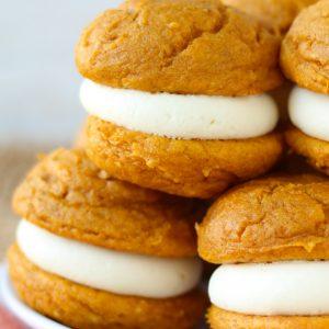 5 Ingredient Pumpkin Cheesecake Whoopie Pies Your Cup Of