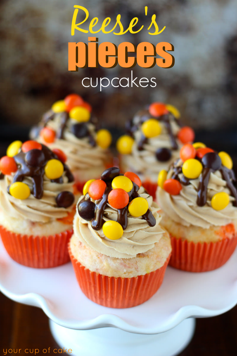 reeses pieces cake