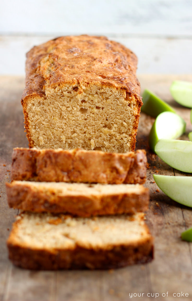 Apple Snickerdoodle Bread Your Cup Of Cake