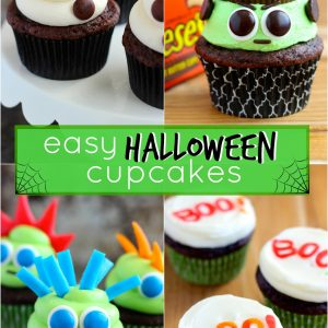 Easy Halloween Cupcake Ideas!