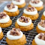 Pumpkin Heath Bar Cookies