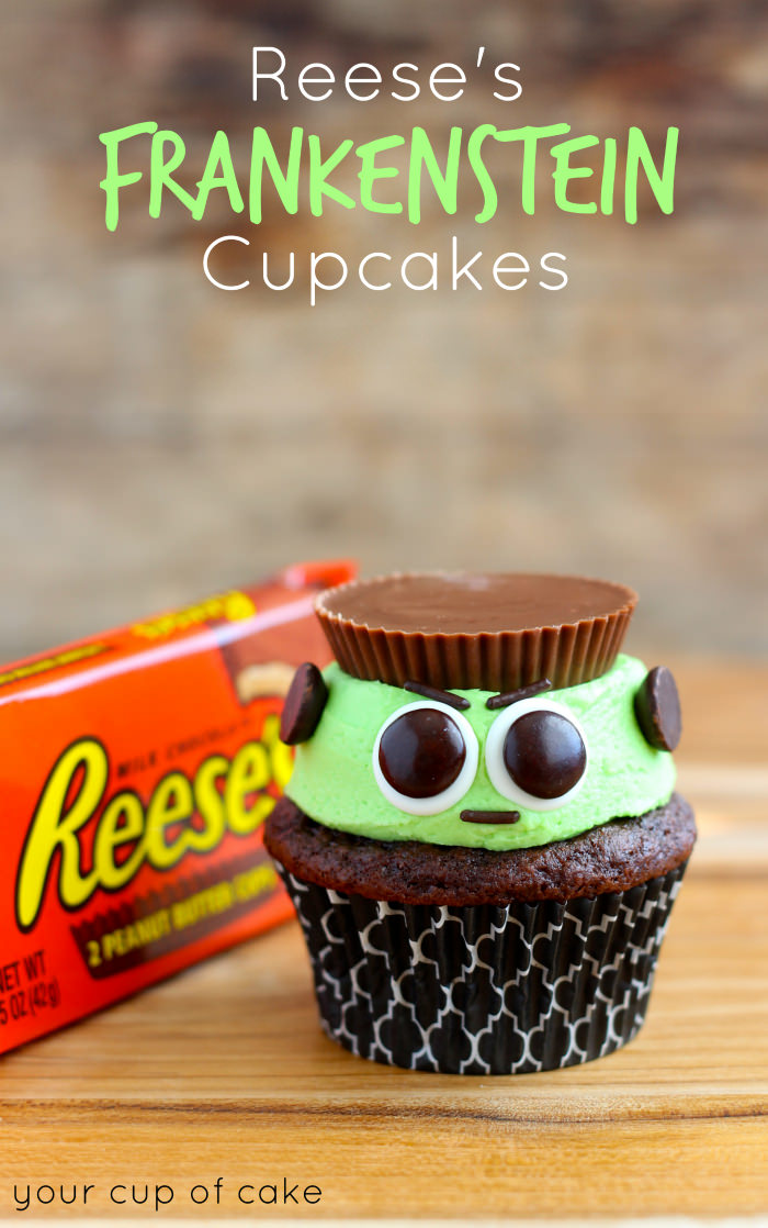 reese\'s peanut butter cup cupcakes