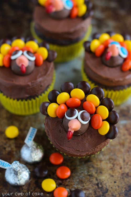 Thanksgiving Turkey Cake Decorating