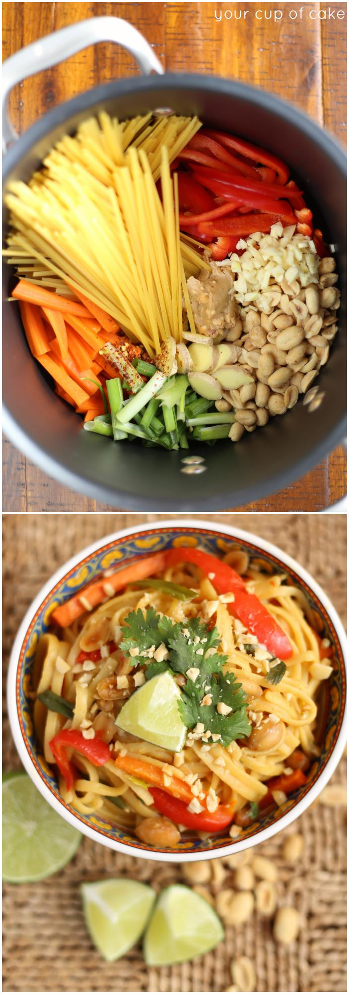 1 Pot Thai Peanut Pasta