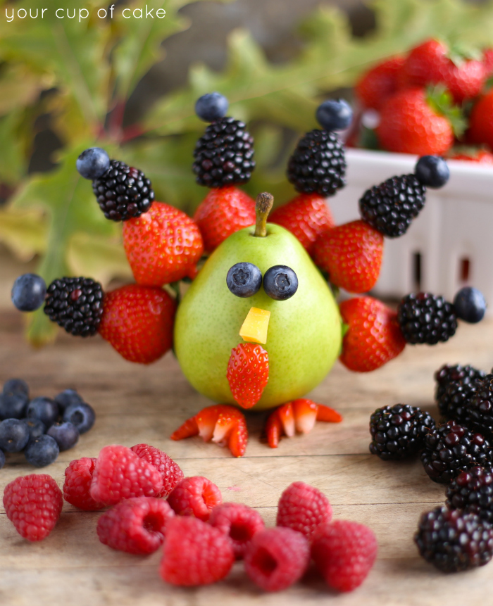 Berry Turkey for Thanksgiving