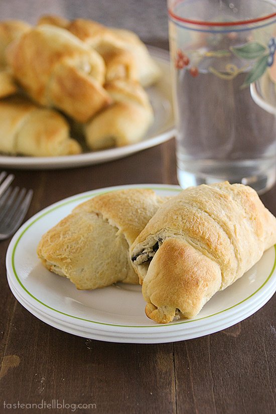 Chicken Stuffed Crescents | Taste and Tell