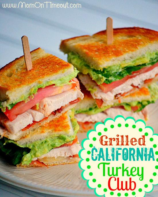 Grilled California Turkey Club | Mom on Timeout