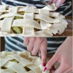 How to Lattice a Pie Crust