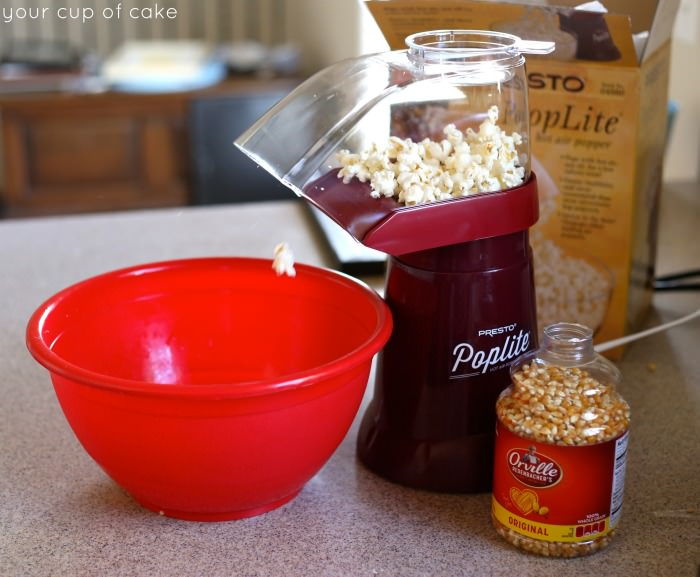 Making Candy Popcorn at home