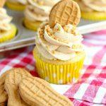 Nutter Butter Banana Cupcakes