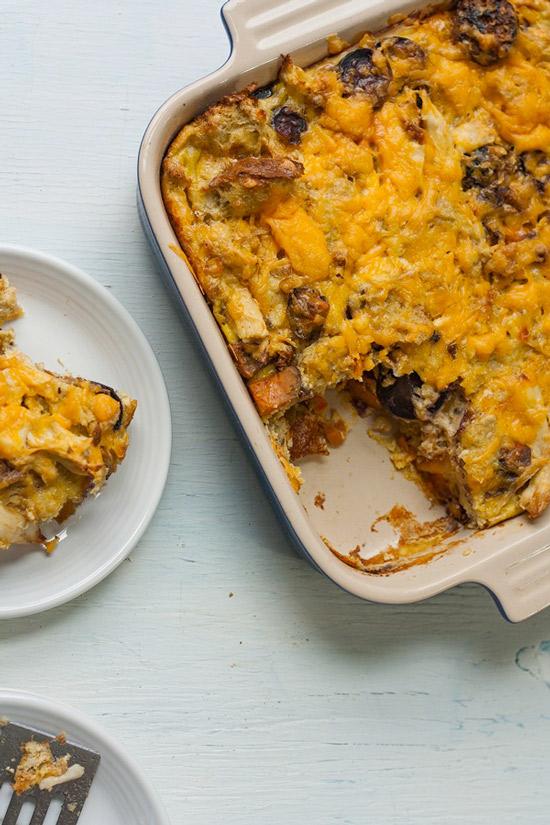 Thanksgiving Leftovers Breakfast Casserole | Savvy Eats