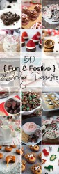 50 Fun & Festive Holiday Desserts!