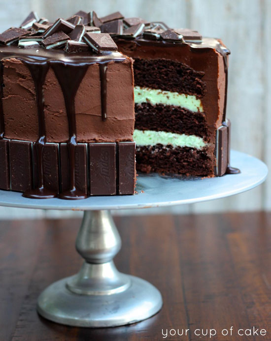 Andes Mint Cake | Your Cup of Cake