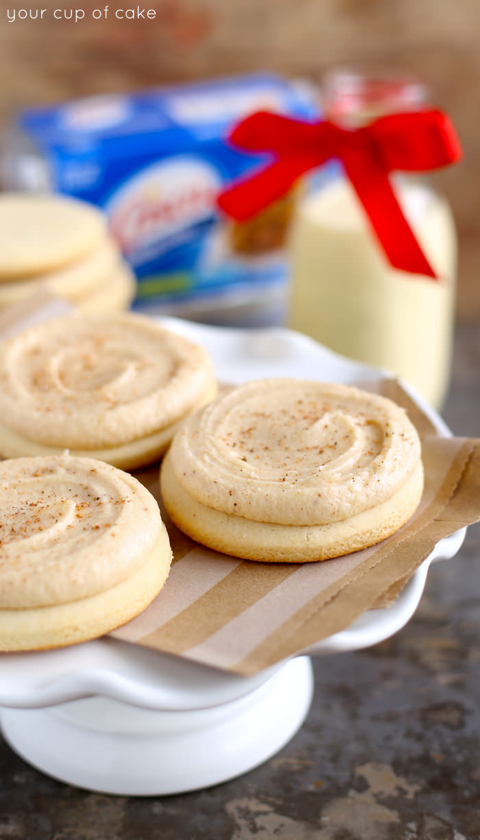 Eggnog Sugar Cookie Recipe