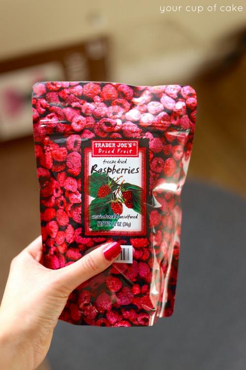 Freeze Dried Berry Buttercream