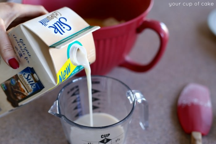Milk Cashew Milk Cupcakes