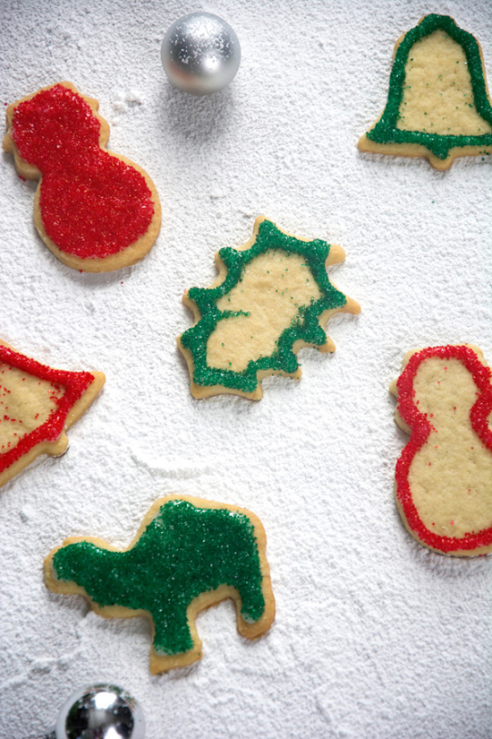 Nana's Perfect Cut Out Sugar Cookies | The Housewife in Training Files