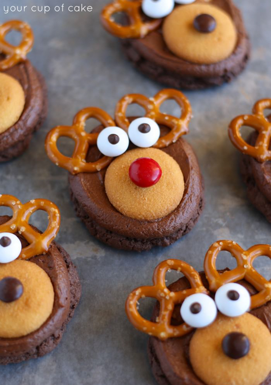 Rudolph Cookies | Your Cup of Cake