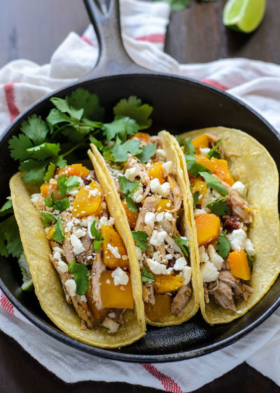 Butternut Squash Pulled Pork Tacos | The Law Student's Wife