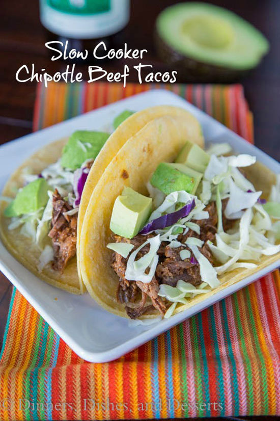 Chipotle Beef Tacos | Dinners Dishes and Desserts