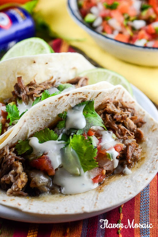 Zesty Ranch Slow Cooker Carnitas | Flavor Mosaic