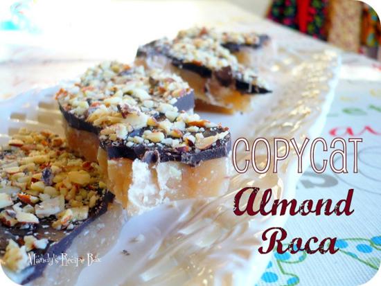 Copycat Almond Roca | Mandy's Recipe Box