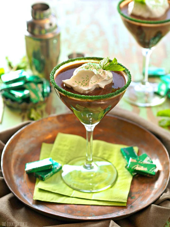 Andes Mint Martini | The Cookie Rookie