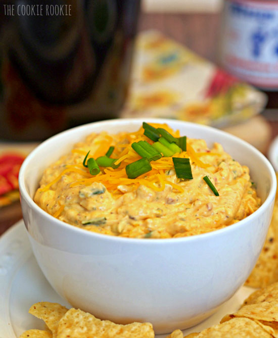 BBQ Chicken Dip | The Cookie Rookie
