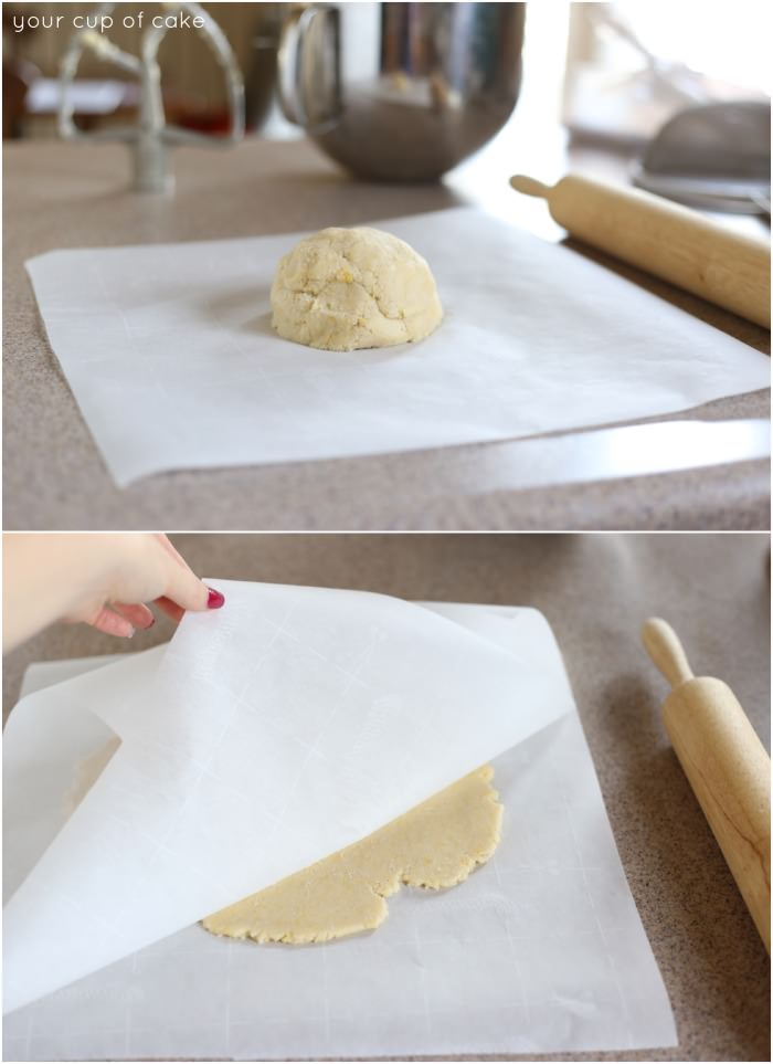how to roll out dough with no mess