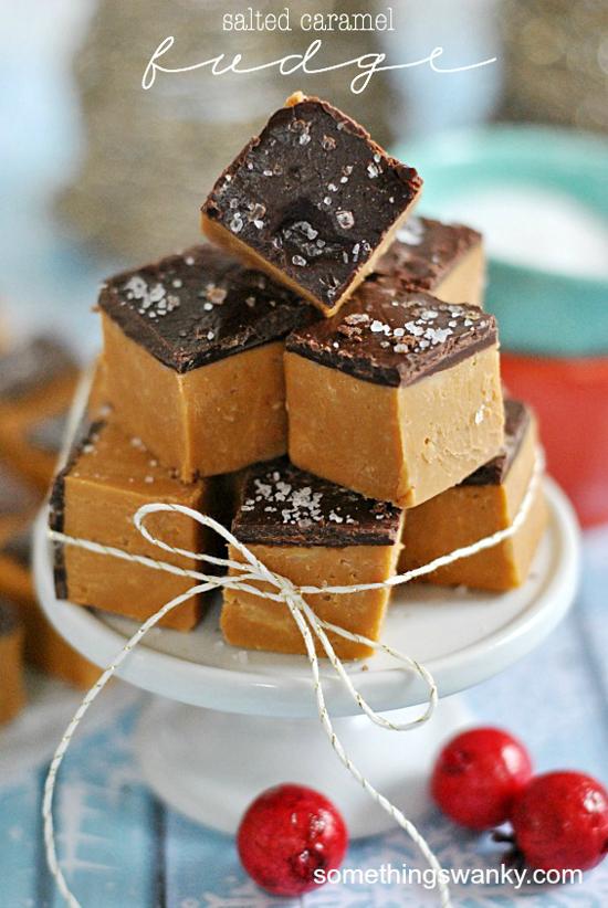 Salted Caramel Fudge | Something Swanky