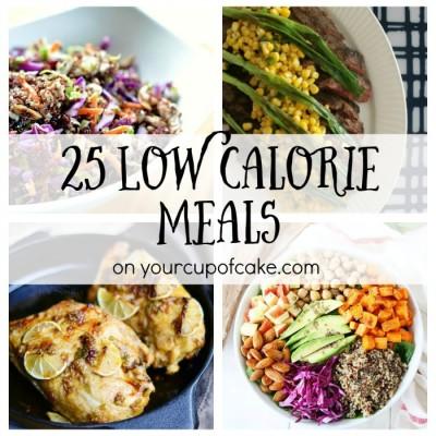 25 Low Calorie Meals VERT