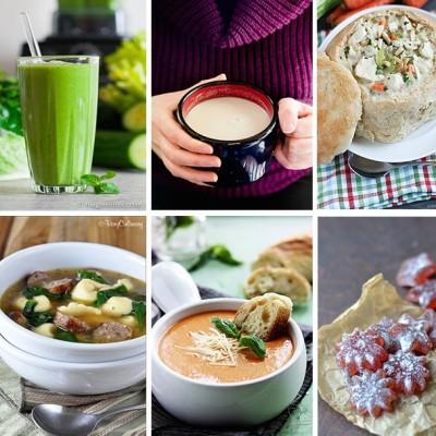 30+ Flu Fighting Food Recipes!