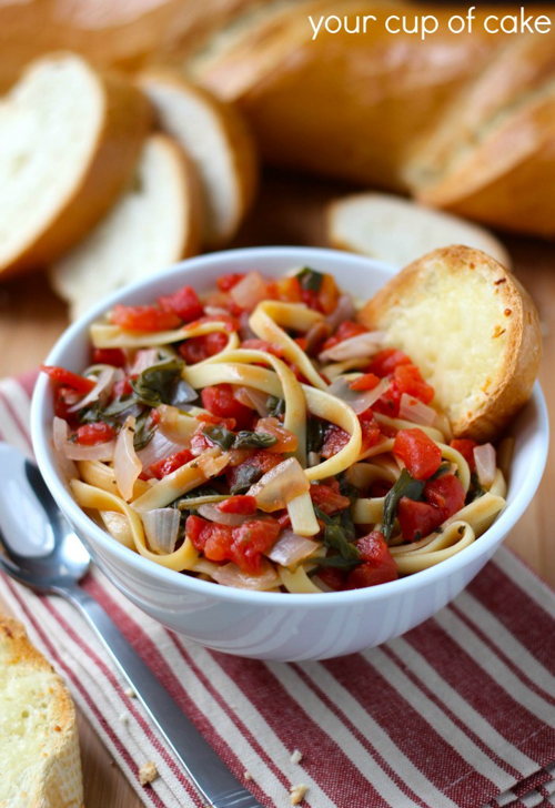 Italian Noodle Soup | Your Cup of Cake