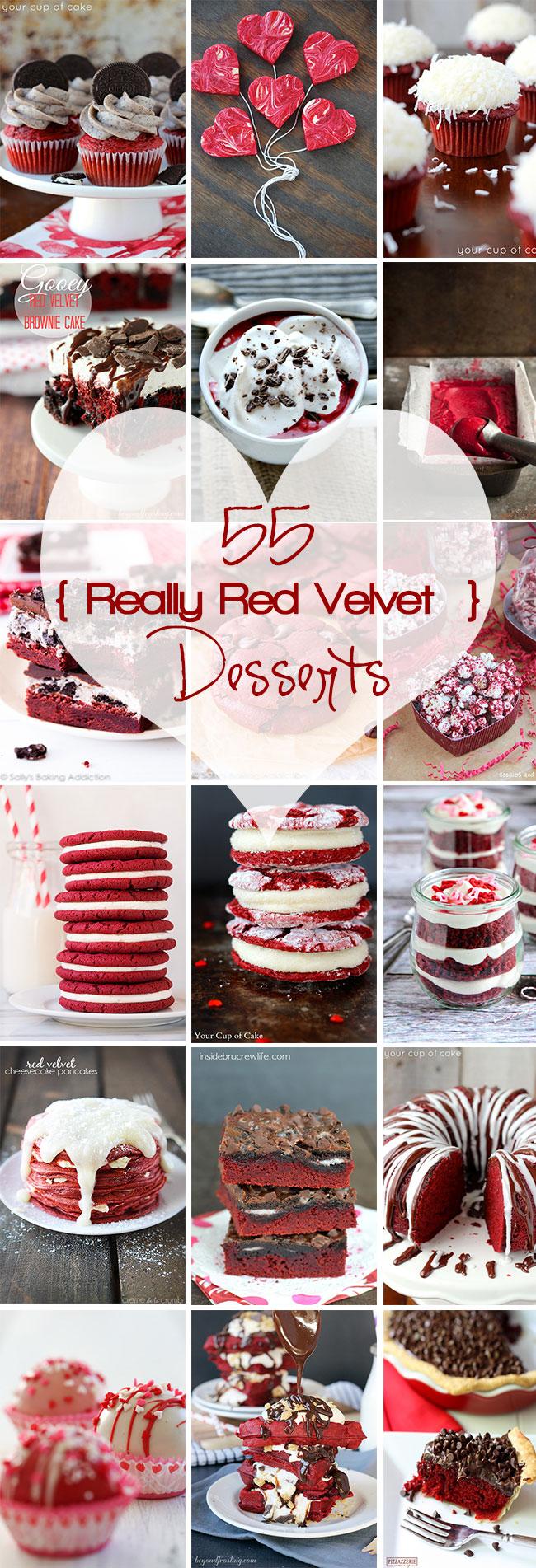 55 Really Red Velvet Desserts